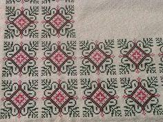 Cross Stitching, Cross Stitch Embroidery, Embroidery Patterns, Stitch Patterns, Cross Stitch Cushion, Cross Stitch Designs, Needle And Thread, Needlepoint, Bohemian Rug