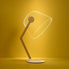 3D лампа-ночник, настольная