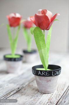 paper tulip diy