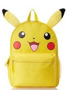 Rapture Anime Pokemon Nylon Backpack Pikachu Cosplay School Shoulder Bag Children Plush Backpack Costumes & Accessories Costume Props