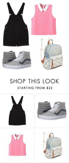 """Fangirl"" by emmylong04 on Polyvore featuring Monki, Vans and Red Camel"