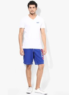 a620875a09 Buy Superdry Blue Solid Shorts Online - 5308428 - Jabong