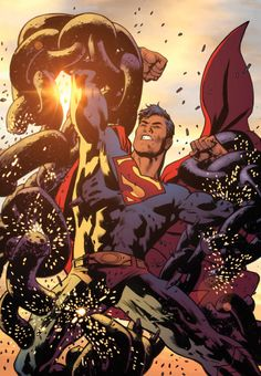 Adventures of Superman #1 cover by Bryan Hitch and David Baron