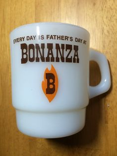 Every Day is Father's Day Vintage Bonanza Mug by by calvingilbert