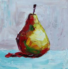 Abstract pear