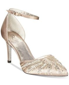 Adrianna Papell Hollis Evening Pumps - Evening & Bridal - Shoes - Macy's