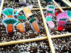 Turn garden planning into a time of whimsy and play by allowing the creativity of children to become part of the process.