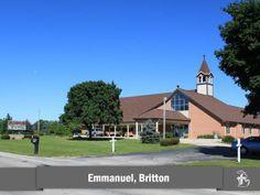 Emmanuel Lutheran Church in Britton, Michigan #LCMS
