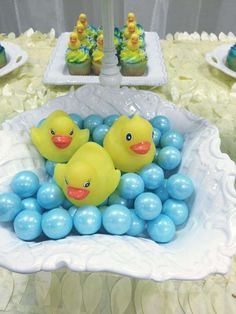 Rubber Duckies Baby Shower Party Ideas | Photo 9 of 14 | Catch My Party
