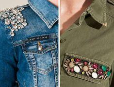 Creating DIY Fashion Trends – Designer Fashion Tips Mode Jeans, Denim Ideas, Indian Designer Outfits, T Shirt Diy, Diy Clothing, Denim Fashion, Refashion, Trendy Outfits, Clothes