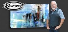 Abstract fine art paintings and modern prints by Randall Marmet' #abstractart
