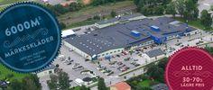 6000m2 butik officiell partner till över 100 kända varumärken.