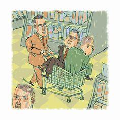 #ReganDunnick #editorial #illustration #humorous #lindgrensmith