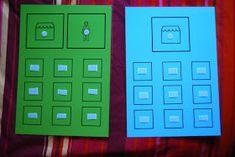 El baúl de A.L: Las tiendas Great Schools, Teaching, Prints, Sorting, Education, Ideas, Hungry Caterpillar, Literacy Activities, Autism Classroom