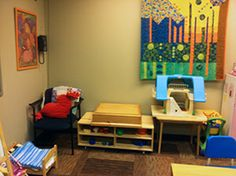 play therapy rooms | ... | Devon Energy Volunteers Bring New Life to Our Play Therapy Room