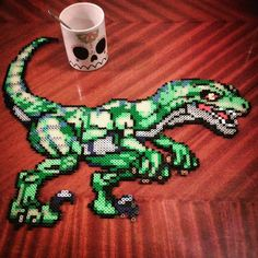 Velociraptor hama beads by  ffrraz
