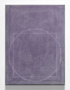 Paul Gillis - Squaring the Circle, 2013, graphite and gesso on canvas, 18 x 24 inches