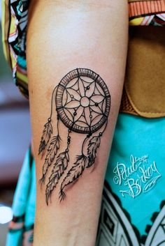 Dreamcatcher Tattoo by Paul Berkey