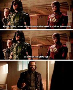 Arrow and The Flash Season 4 Episode 8 Flarrow
