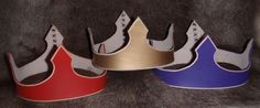 Child's Arms & Armour--leather crown $15