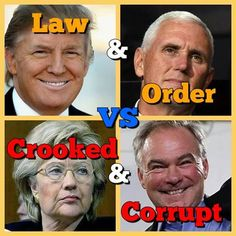 This is truly an election of good vs EVIL CONNIVING CROOKED and CORRUPT hillary…
