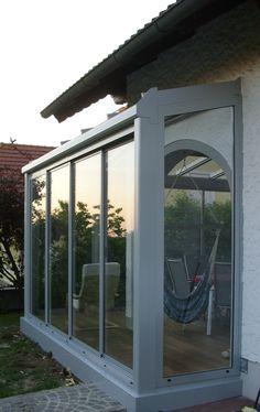 Wintergarten Entspannungsoase #Wintergarten #Wintergärten #Sommergarten #Neher #Multiraum #Glasschiebetüren #glass #sliding #doors