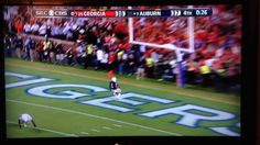 This is why I love the SEC and of course my Auburn Tigers! WDE!