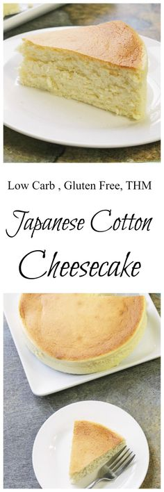 Japanese Diet - Correction: No Oat Fiber In Recipe Japanese Cotton on Best Recipes Ideas 3504 Low Carb Desserts, Gluten Free Desserts, Gluten Free Recipes, Low Carb Cheesecake, Cheesecake Recipes, Dessert Recipes, Japanese Cotton Cheesecake, Carb Cycling Diet, Japanese Diet