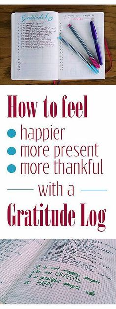 Having a Gratitude Log can have such a positive impact on your life. You will…