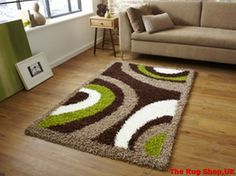 Best Buying Guide And Review Of Vista OC11 Green Brown Shaggy Rug With Price