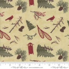 Frosted Flannels 6781 Park Tan, Holly Taylor by Moda Flannel Quilts, Cotton Quilts, Quilt Batting, Quilts For Sale, Frost, Winter Fun, Quilting Designs, Holiday, Christmas Gifts
