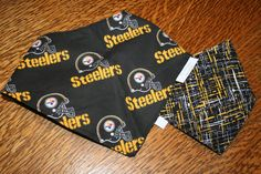 The Bohemian Bow Wow Pittsburgh Steelers reversible dog by cimoore, $5.00