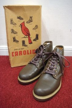 deadstock carolina work boots