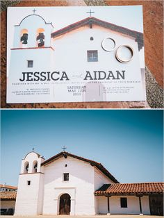 such a  great idea. use your wedding location as your save the date  http://www.weddingchicks.com/2013/09/24/simple-and-classic-weddingimple-and-classic-wedding/