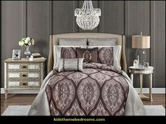 Decorating theme bedrooms - Maries Manor: Hollywood glam living ...