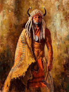 James Ayers paints Native American paintings and sells prints of previous works. His depictions are well-researched and respectful. Click to learn more.