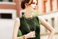 Necklace and Bracelet Layering