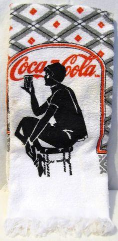 Coca Cola Cup Towel - 1984