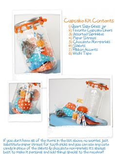 Cupcake Kit by Love the Life you Live, several products from Shop Sweet Lulu
