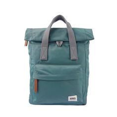 Small Sage Canfield B Backback by Roka is weather resistant, durable and sleek. The sage colour is a cool green with a perfectly balanced shade that Nylons, Trendy Backpacks, Commuter Bag, Sage Color, Grab Bags, A 17, Back Strap, Medium Bags, Small Bags