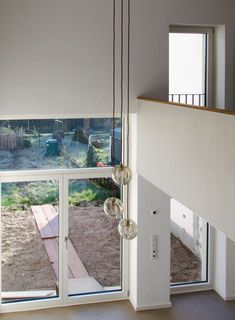 Einfamilienhaus bonn wolfgang zeh architekt Windows, Basement Ceilings, Bonn, Detached House, Floor Layout, Window, Ramen