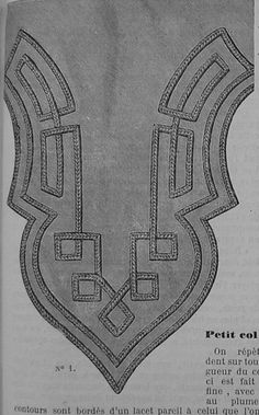 Soutache Patterns for Clancy! - Page 2 - Belle Alley                                                                                                                                                     More