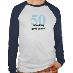 >>>Cheap Price Guarantee          50 is Looking Good on Me Tees           50 is Looking Good on Me Tees you will get best price offer lowest prices or diccount couponeShopping          50 is Looking Good on Me Tees Review on the This website by click the button below...Cleck See More >>> http://www.zazzle.com/50_is_looking_good_on_me_tees-235945594315579257?rf=238627982471231924&zbar=1&tc=terrest