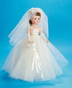View Catalog Item - Theriaults Antique Doll Auctions. Cissy bride vintage doll by Madame Alexander