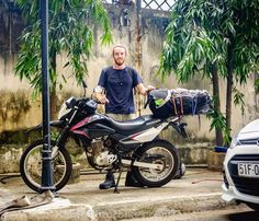 "28 Me gusta, 2 comentarios - Jon Pepper (@tigitmotorbikes) en Instagram: ""Zane from Austrialia off to Hanoi on the Honda XR150 #tigitmotorbikes #hondaxr150 #travelonbike…"""