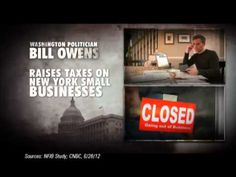 """Broken Trust"" from the U.S. Chamber of Commerce opposes Rep. Bill Owens, D-N.Y. 10/4/12"
