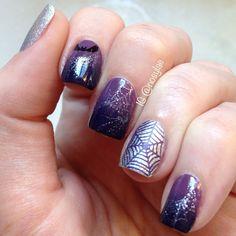 halloween by nosylae #nail #nails #nailart