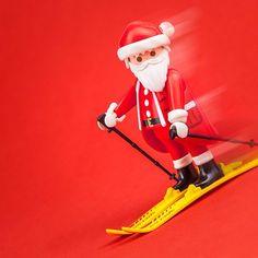 Skiing Santa   #PLAYMOBIL #toys #figure #fun #christmas #Santa #advent #SantaClaus #fatherchristmas #xmas #skiing #ski #sports #winter #wintersports #ShareTheSmile