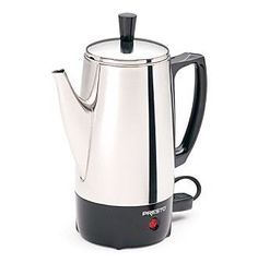Presto® 6-cup Stainless Steel Coffee Percolator