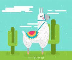 llama ilustracion - Búsqueda de Google